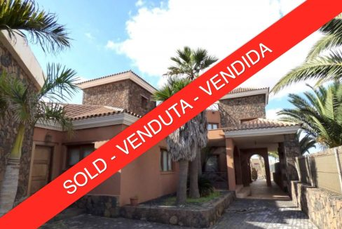 Luxury detached villa La Oliva Fuerteventura