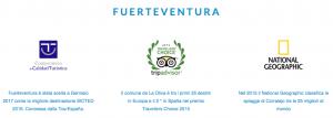 Riconoscimenti Fuerteventura