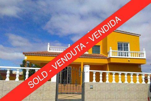 Detached villa La Oliva Fuerteventura