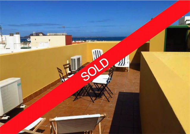 Central penthouse apartment Corralejo