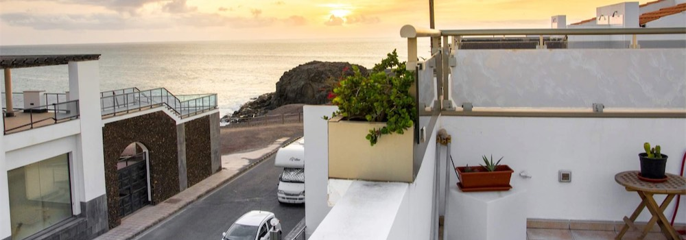 Sea view apartment El Cotillo