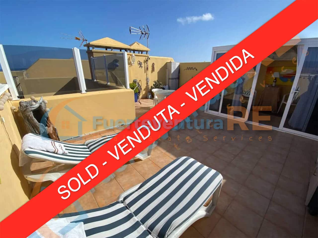 Apartment with rooftop terrace Corralejo