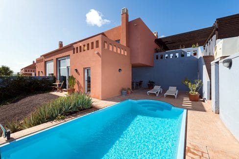 Duplex with private pool Caleta de Fuste